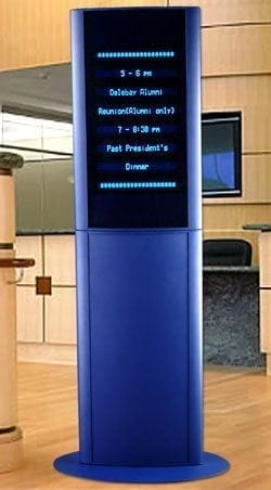 LED RECEPTION DISPLAY