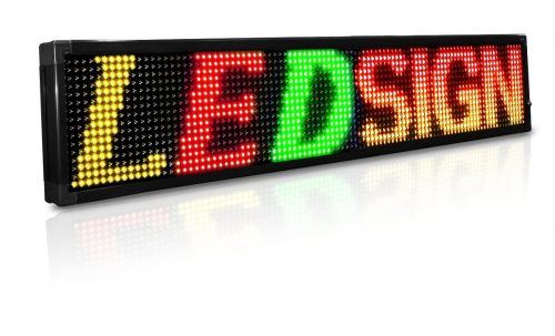 LED sign programmable