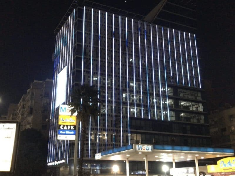 LED Building Facade Cairo