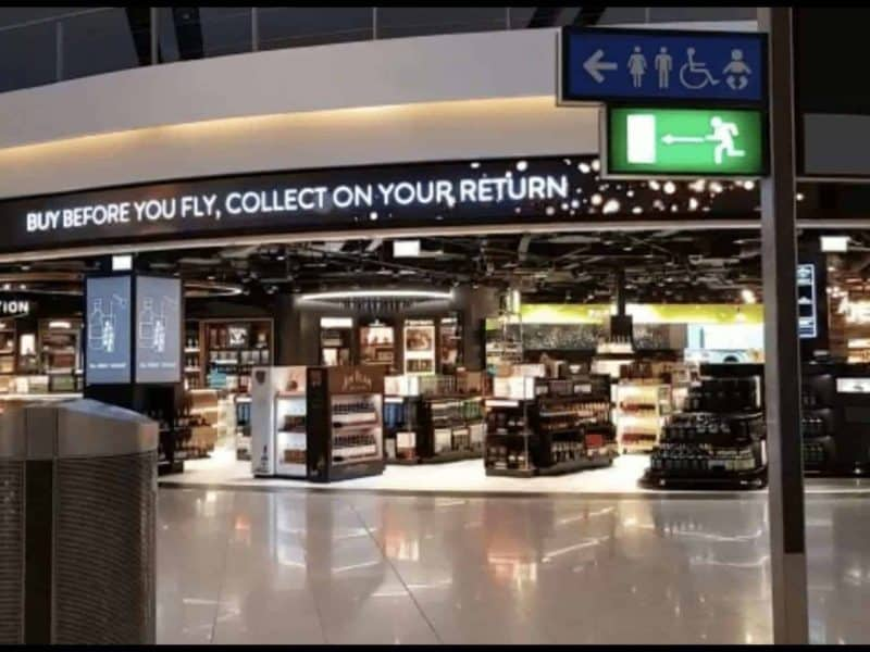 DYNAMO LED DISPLAYS SUPPLY FLEXIBLE P2.5MM LED MODULES AT DUBLIN AIRPORT