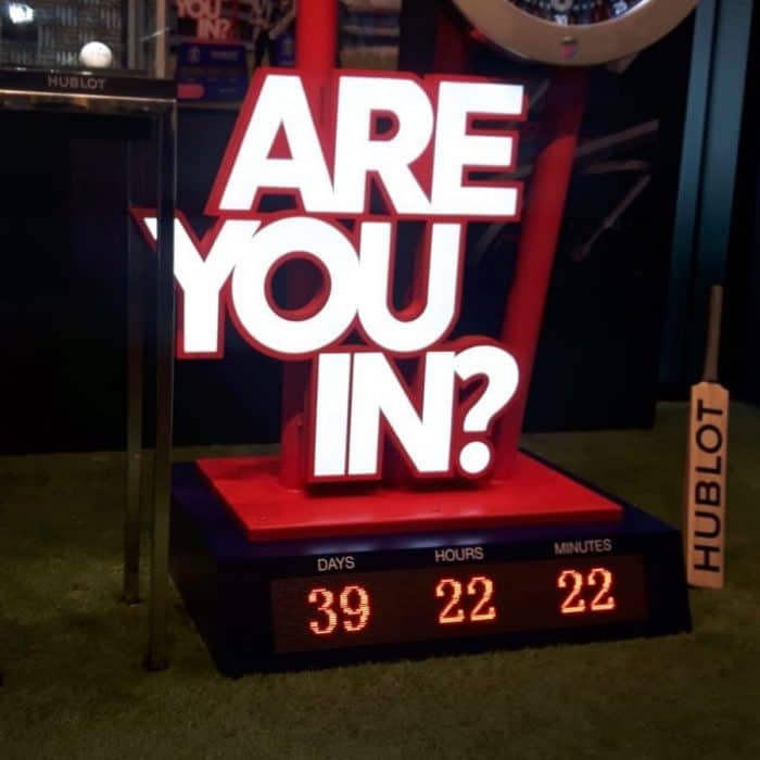 LED COUNTDOWN CLOCK