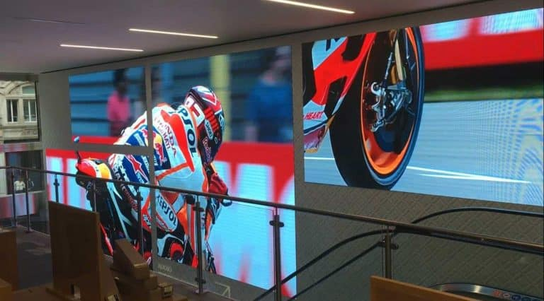 High Quality LED screen installation