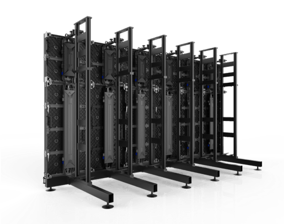 ground stacking LED Cabinets